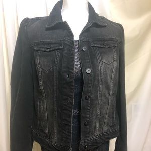 I.N.C International concepts Black denim jacket
